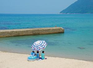 袖志海水浴場